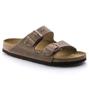 Birkenstocks - brown leather